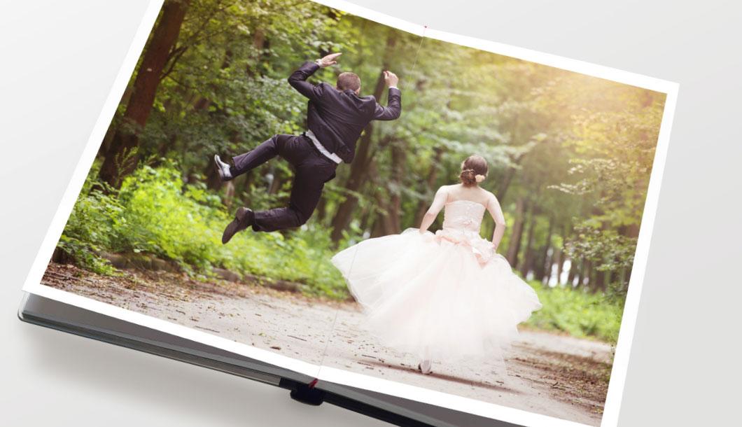 Fotolibri professionali - Rilegatura Wedding
